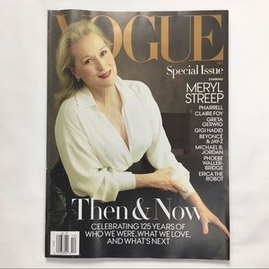 """Vogue """"Then & Now Special Issue December 2017"""
